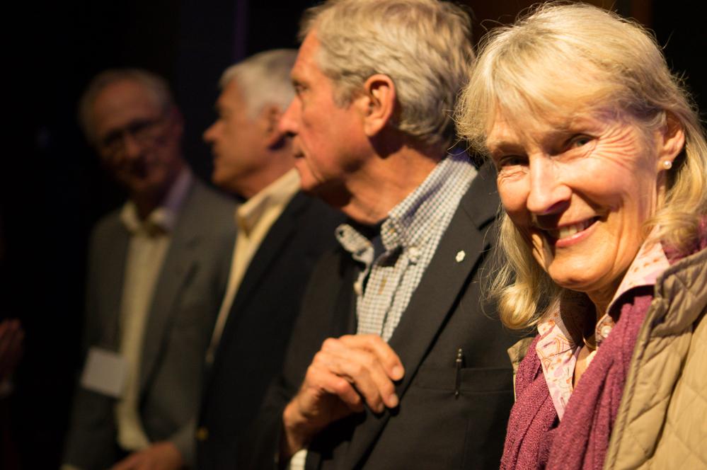 Birgit and Robert Bateman