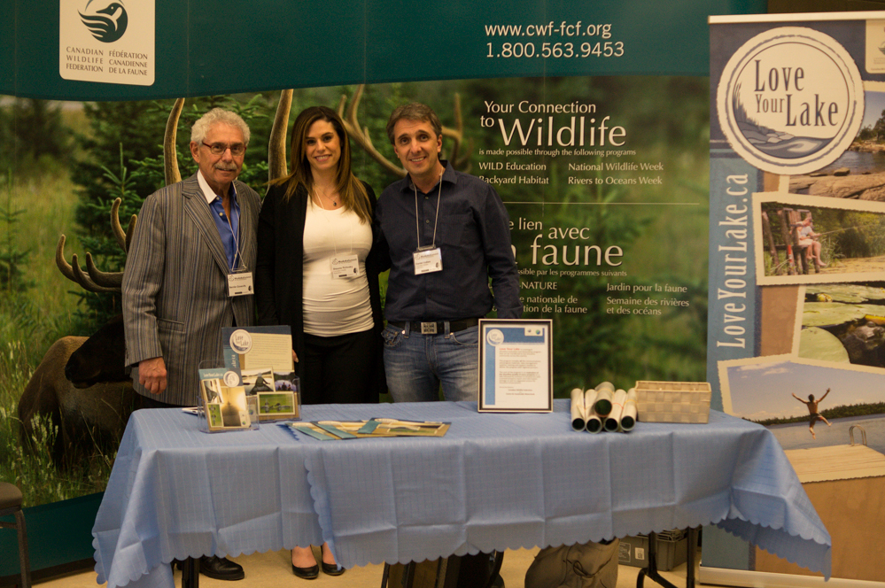 Attendees from the Canadian Wildlife Federation