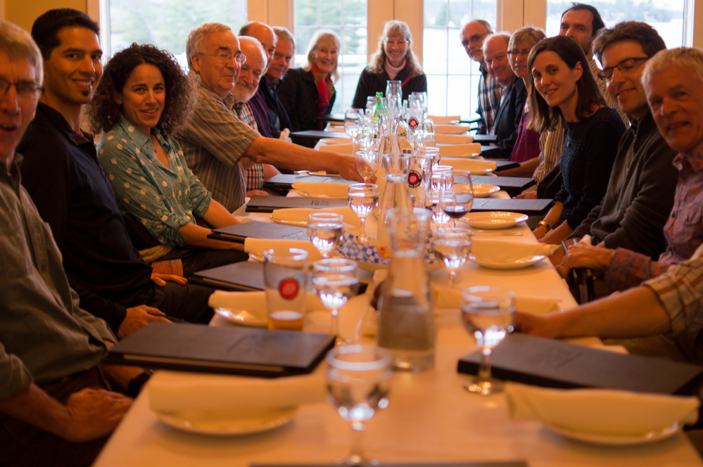 MSE Speakers and Organizing Committee Have Dinner