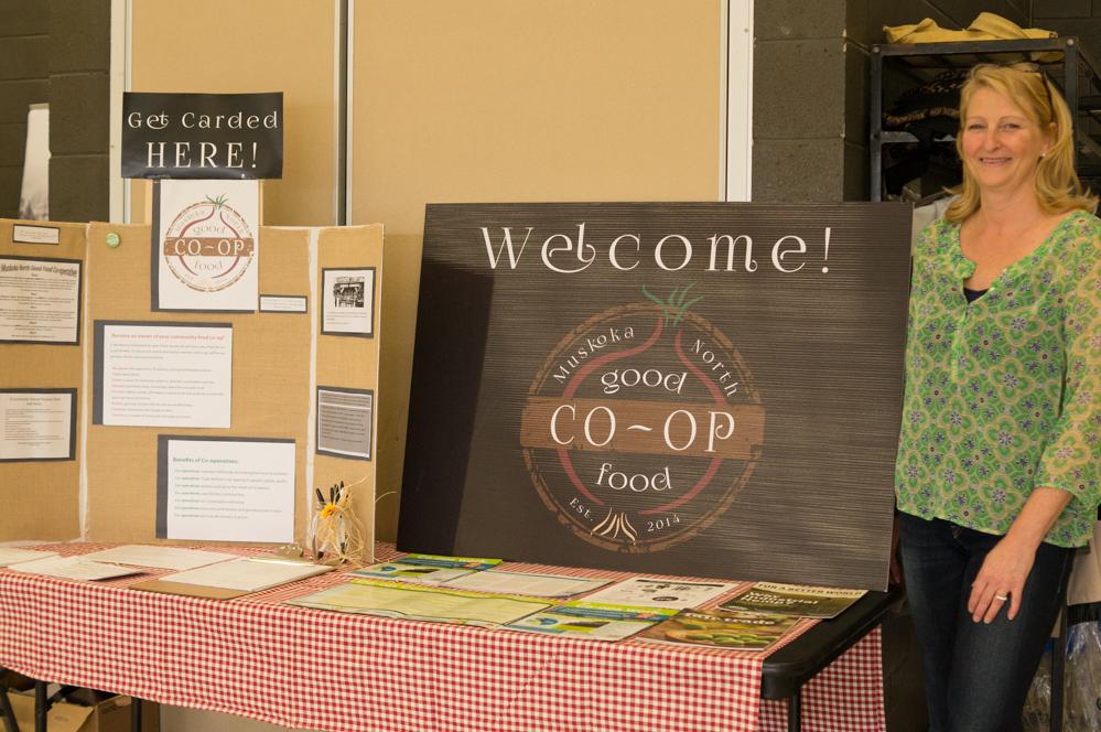 North Muskoka Good Food Co-op Display