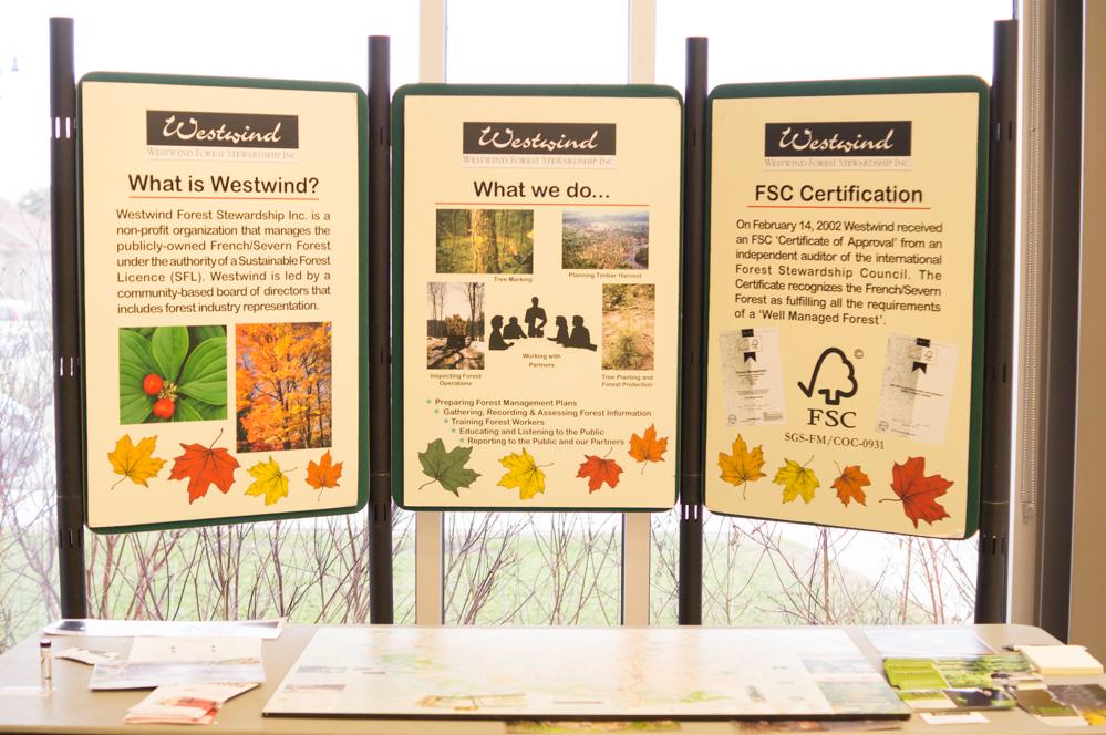 Westwind Forest Stewardship Display