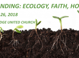Grounding: Ecology, Faith, Hope Workshop